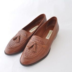 Etienne Aigner Brown Ally Loafer 8.5